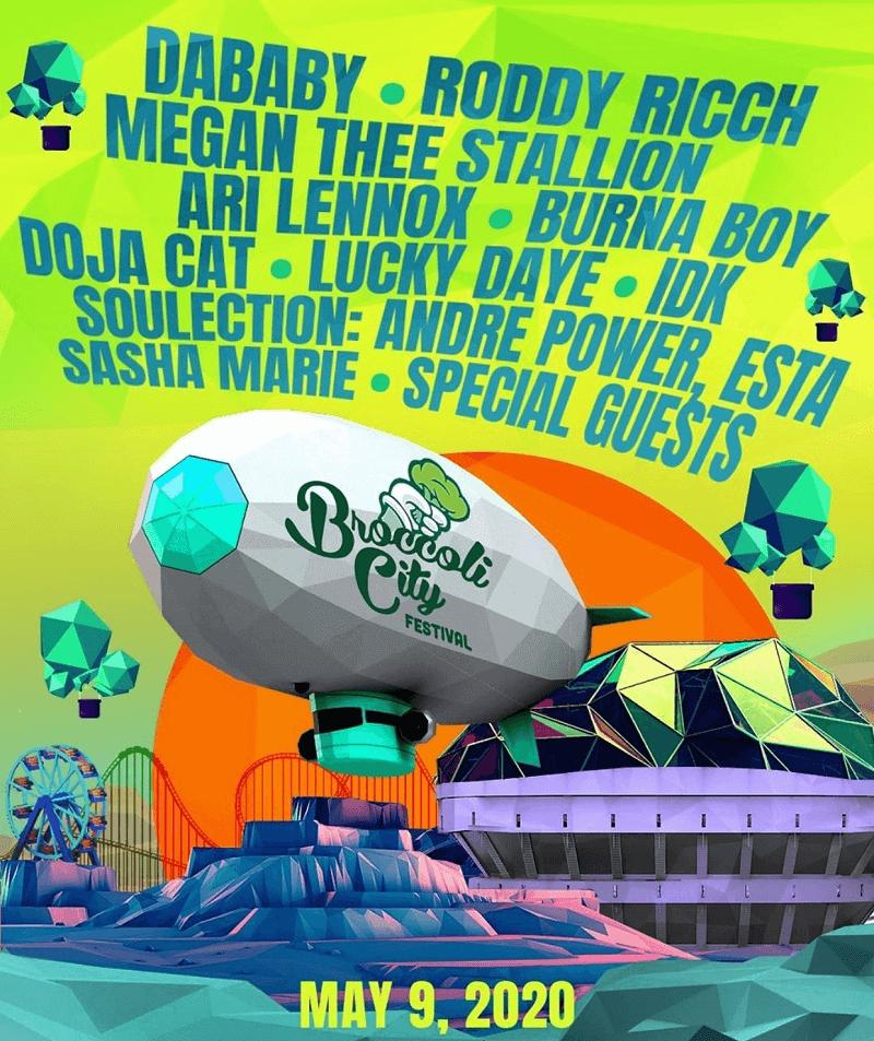 Broccoli City Festival 2020 Lineup