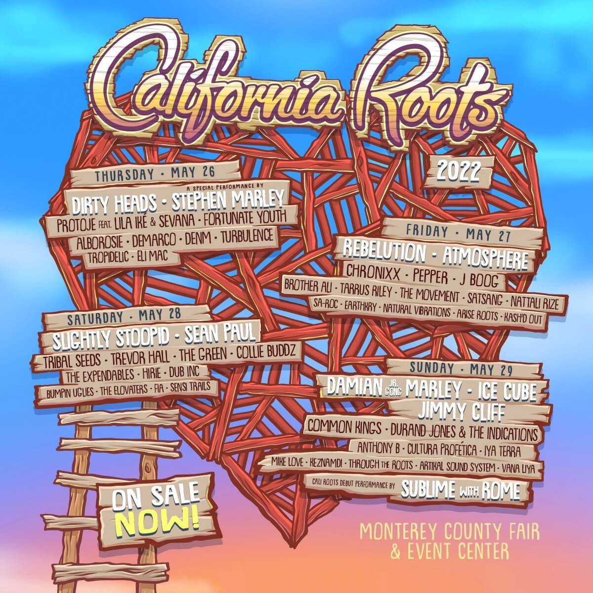 California Roots Music and Arts Festival Lineup 2021