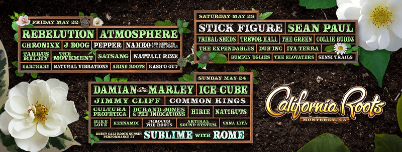 California Roots Music and Arts Festival 2020 Lineup