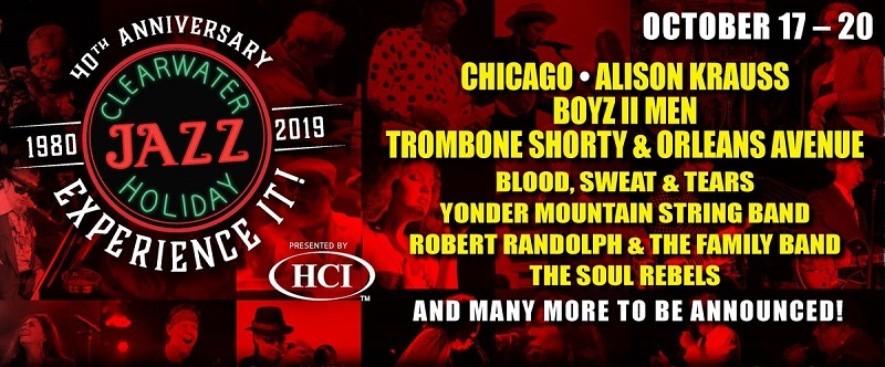 Clearwater Jazz Holiday 2020 Lineup