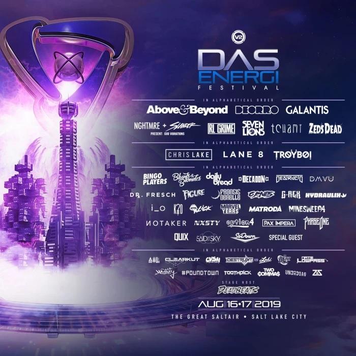 Das Energi Festival Lineup