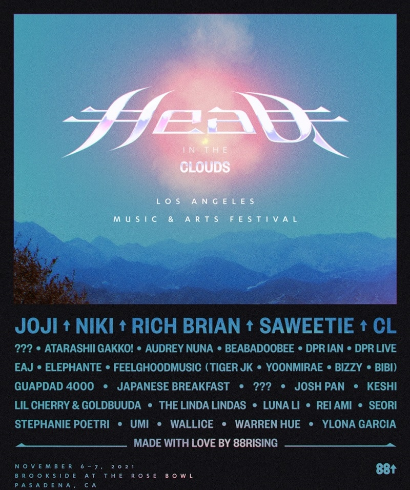 Head In The Clouds Festival Lineup 2021