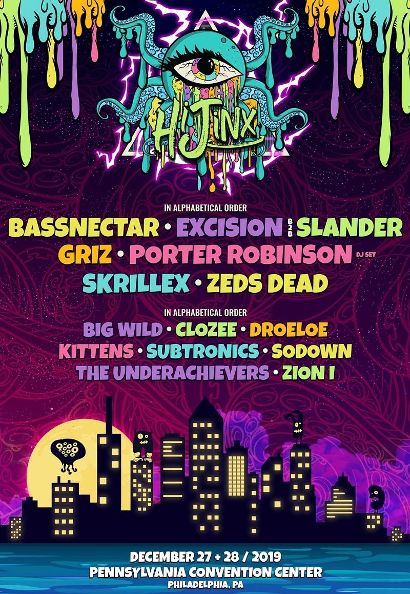 HiJinx Festival 2020 Lineup