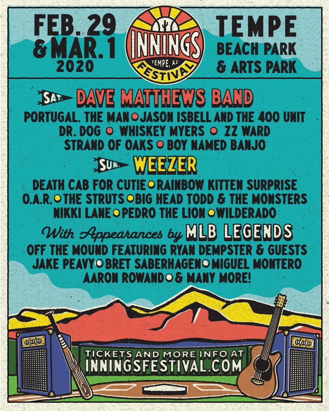 Innings Music Festival 2020 Lineup