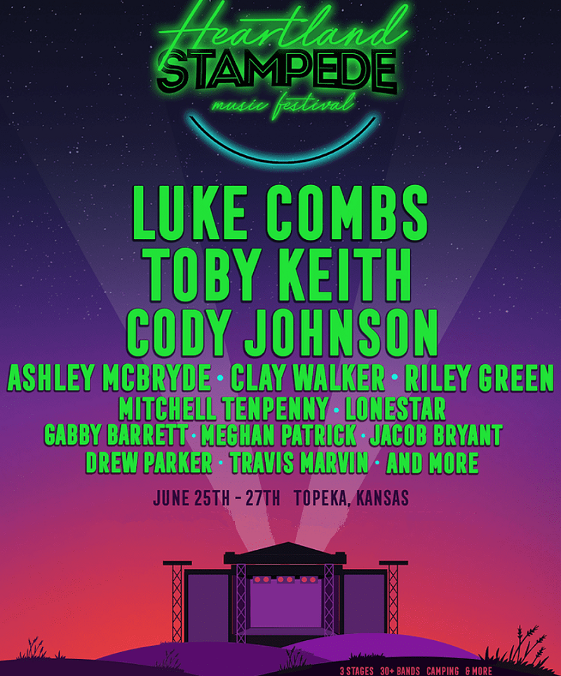 Kicker Country Stampede 2020 Lineup