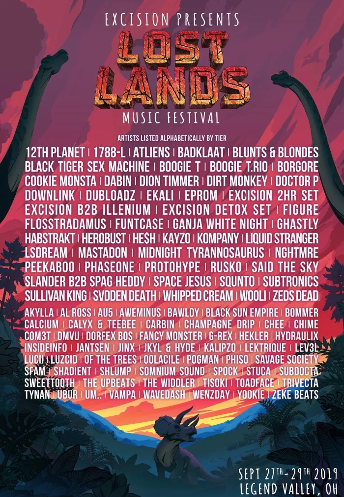 Lost Lands Music Festival 2020 Lineup
