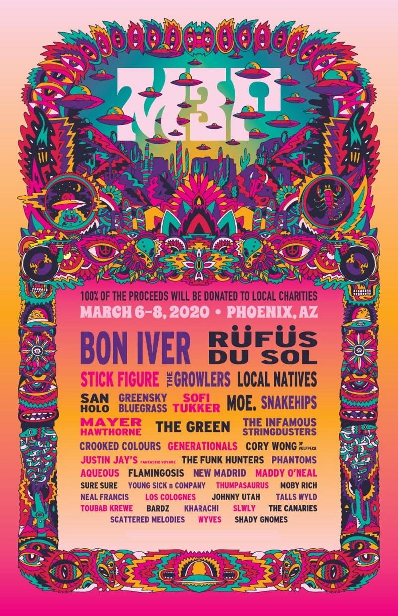 M3F festival Lineup