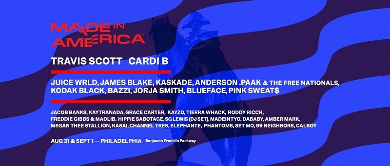 Made In America Music Festival 2019 Lineup