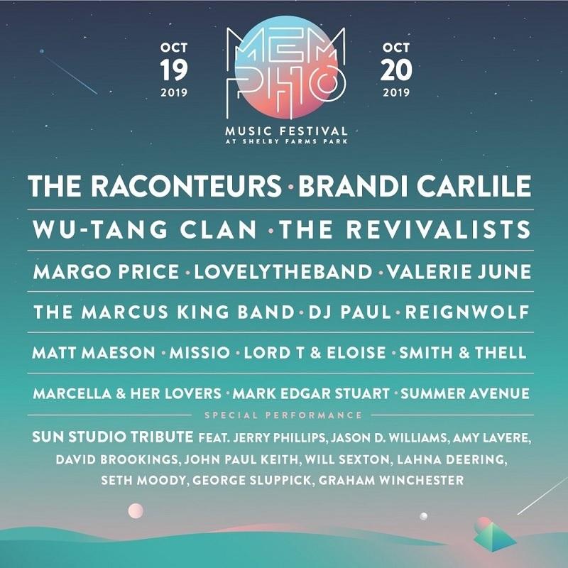 Mempho Festival 2019 Lineup