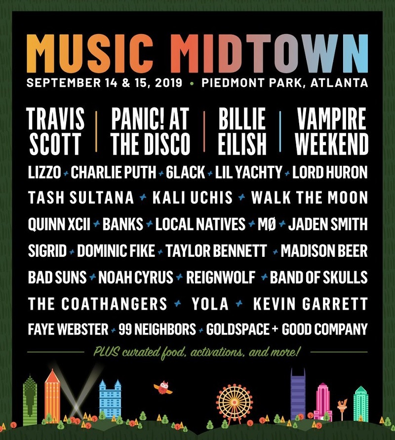 Music Midtown Festival 2020 Lineup