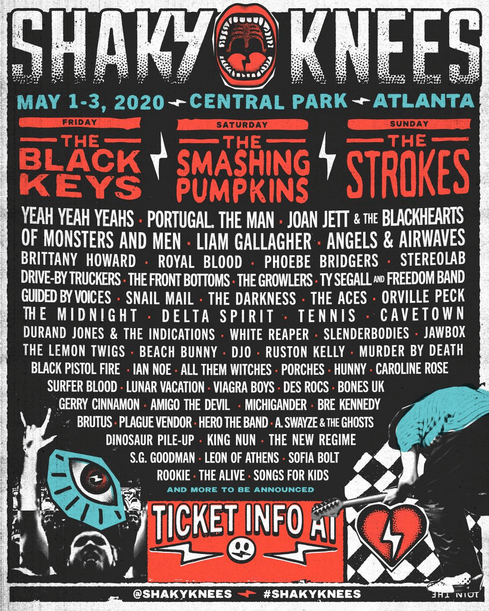 Shaky Knees Music Festival 2020 Lineup