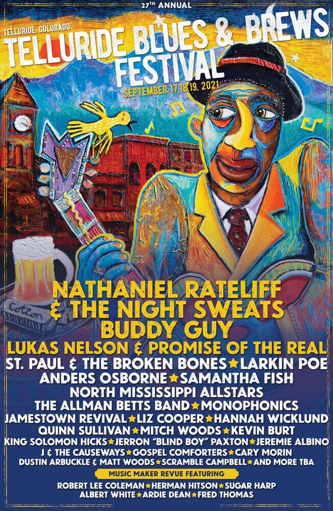 Telluride Blues And Brews Festival Lineup 2021