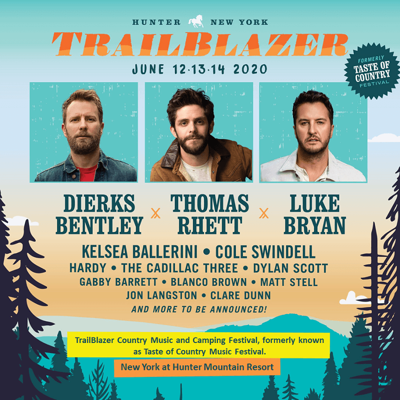 Trailblazer Music Festival 2020 Lineup