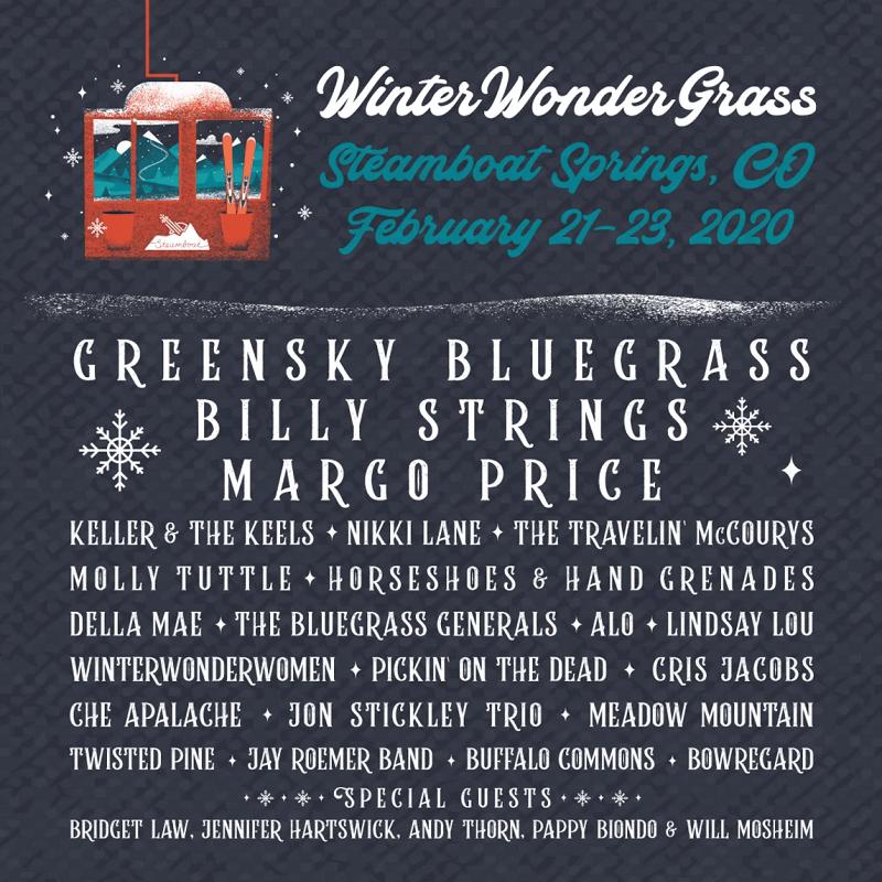WinterWonderGrass Festival 2020 Lineup