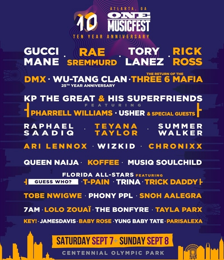 one musicfest new lineup 2019