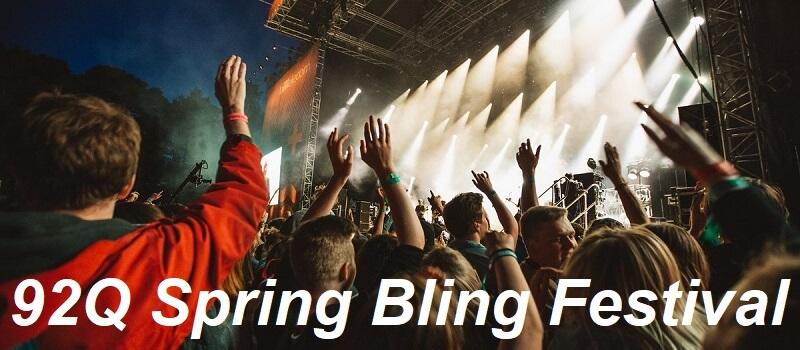 92Q Spring Bling Festival Tickets