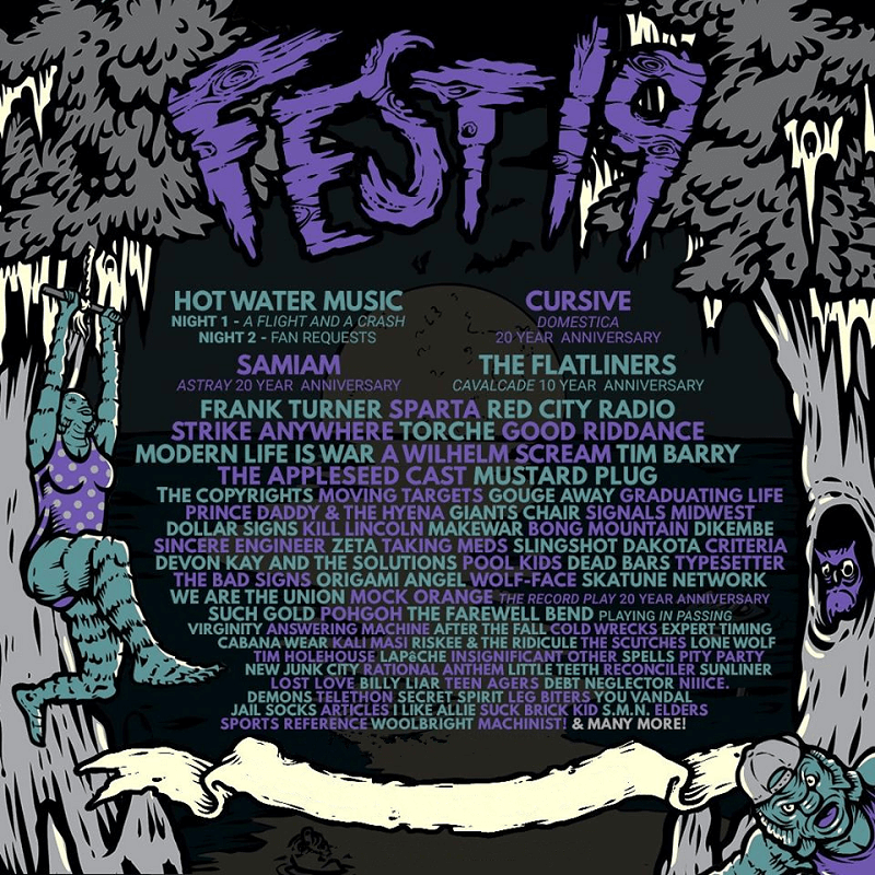 The Fest 19 Lineup