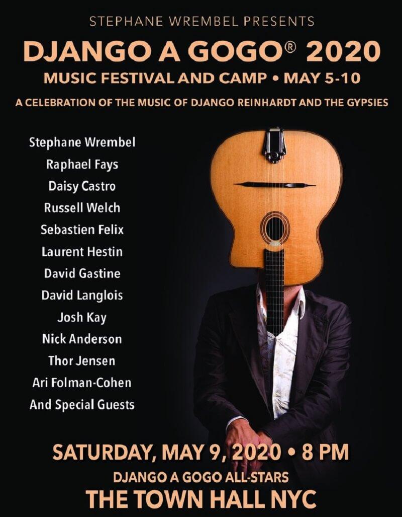 Django A GOGO Festival 2020 Lineup