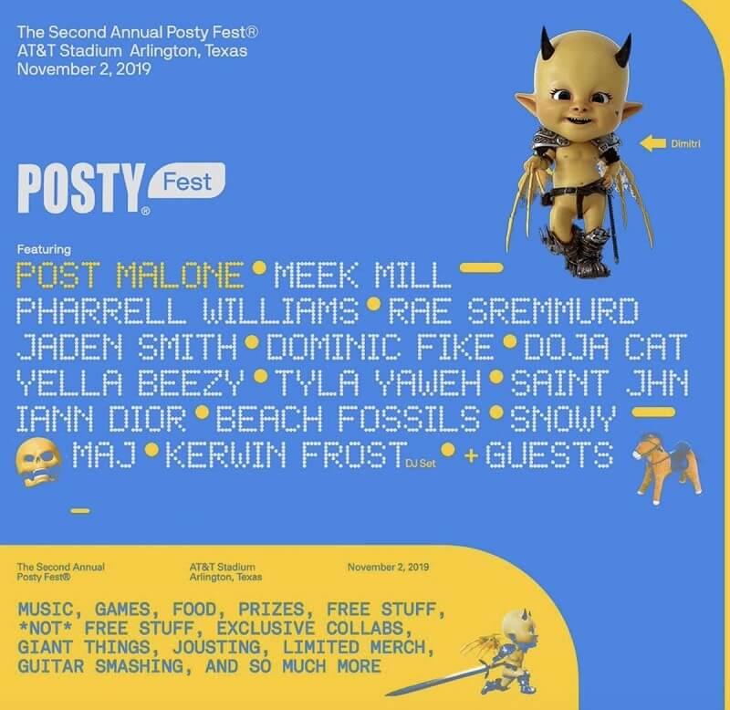 Posty Fest 2020 Lineup