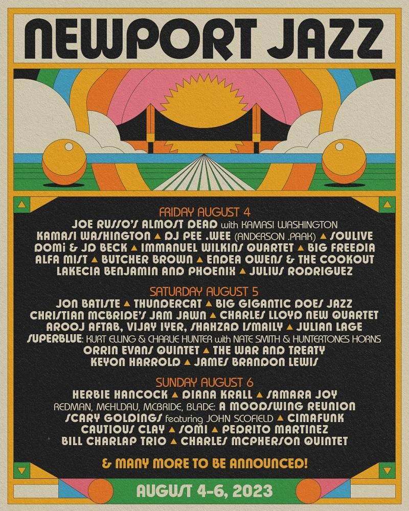Newport Jazz Festival 2021 Lineup