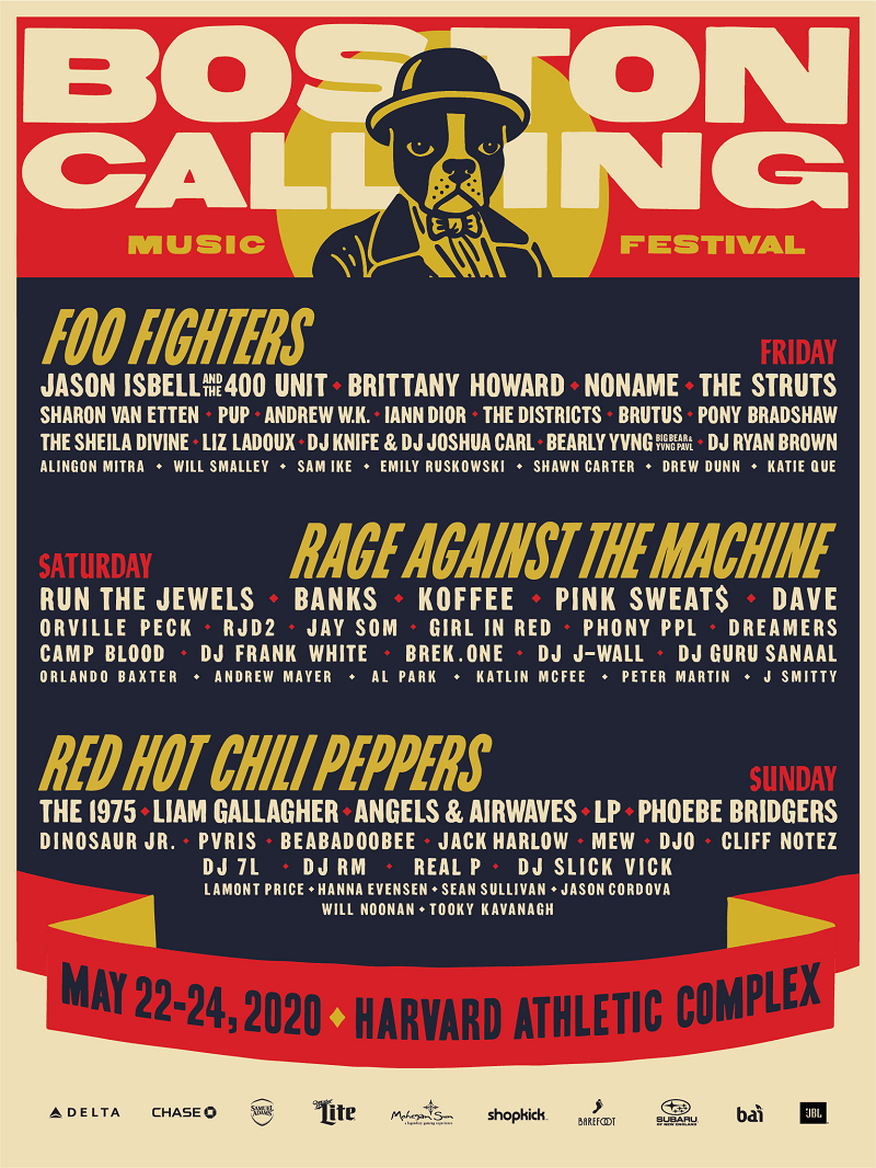 Boston Calling Music Festival Lineup
