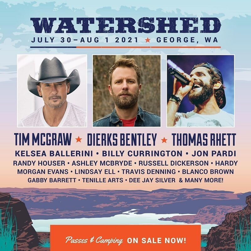 Watershed Festival Lineup 2021