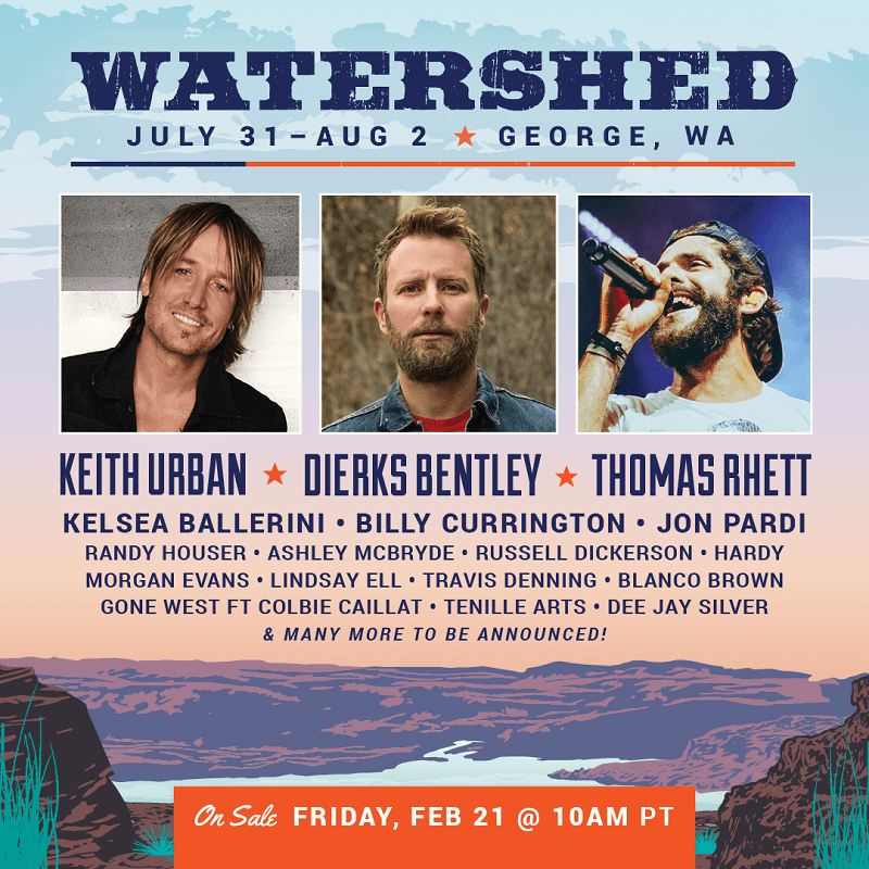 watershed festival lineup