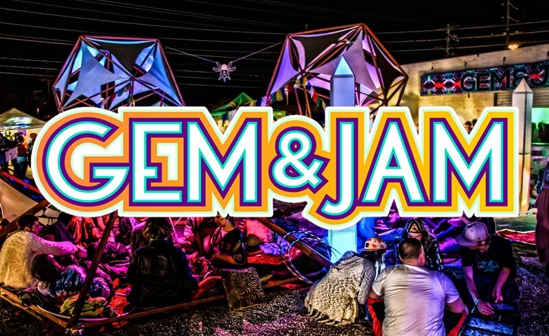 Gem and Jam Festival Tickets