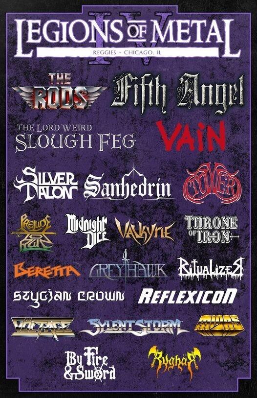 Legions of Metal Festival Lineup 2021
