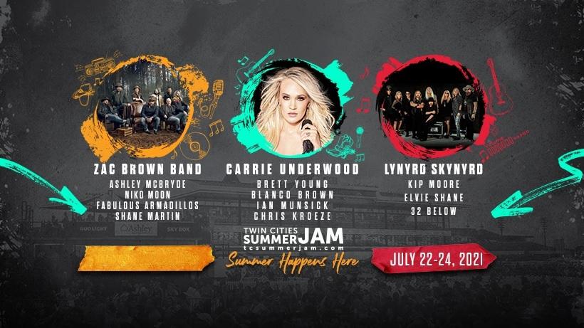 Twin Cities Summer Jam Lineup 2021