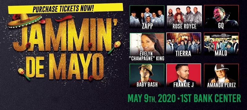 Jammin De Mayo Lineup