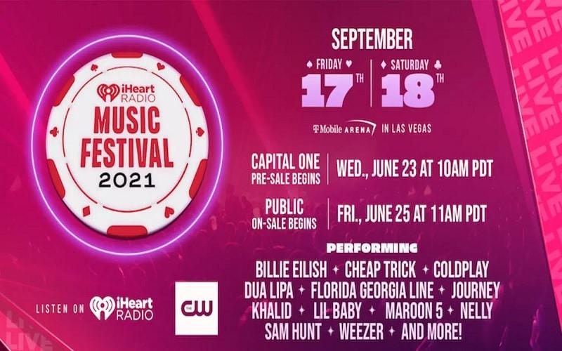 iHeartRadio Music Festival Lineup 2021