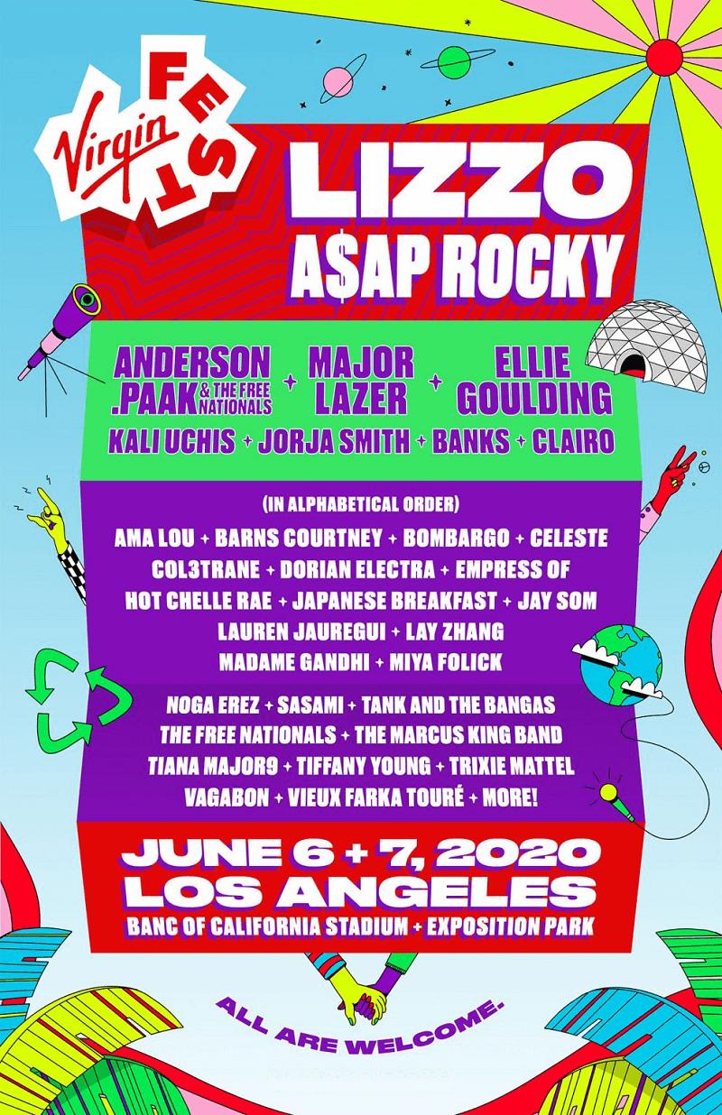 2020 Virgin Fest Lineup