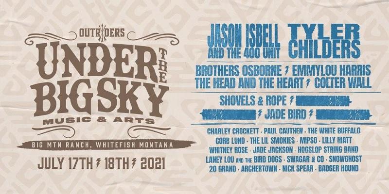 Under The Big Sky Festival Lineup 2021