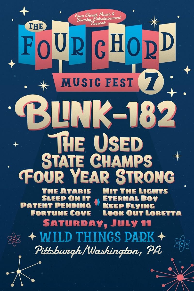Four Chord Music Festival Lineup 2021