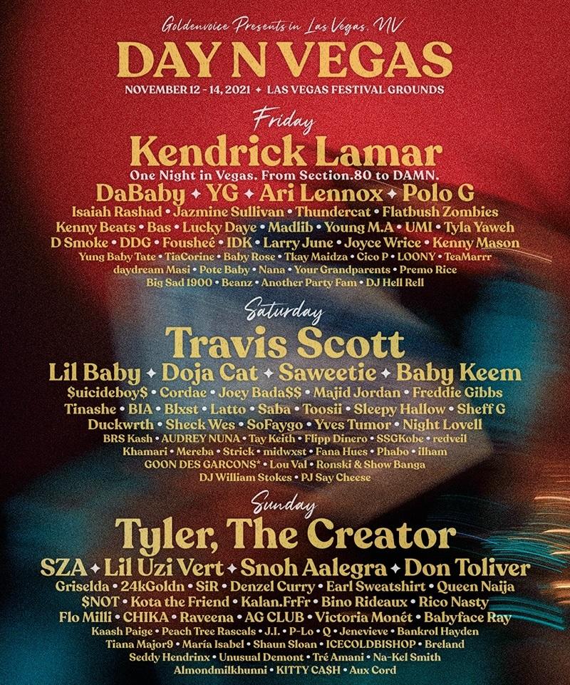 Day N Vegas Lineup 2021