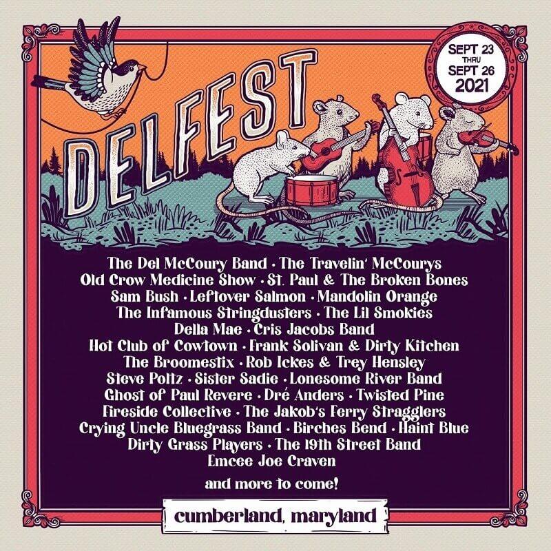 Delfest Lineup 2021