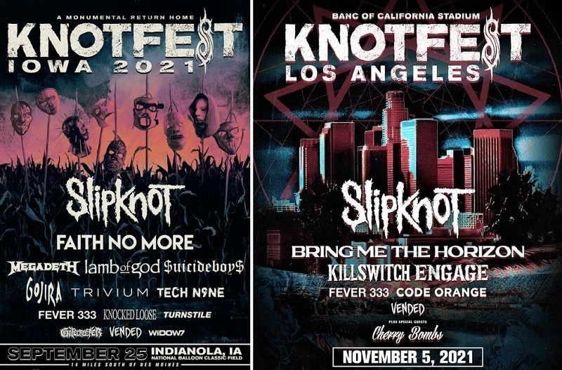 knotfest Lineup 2021