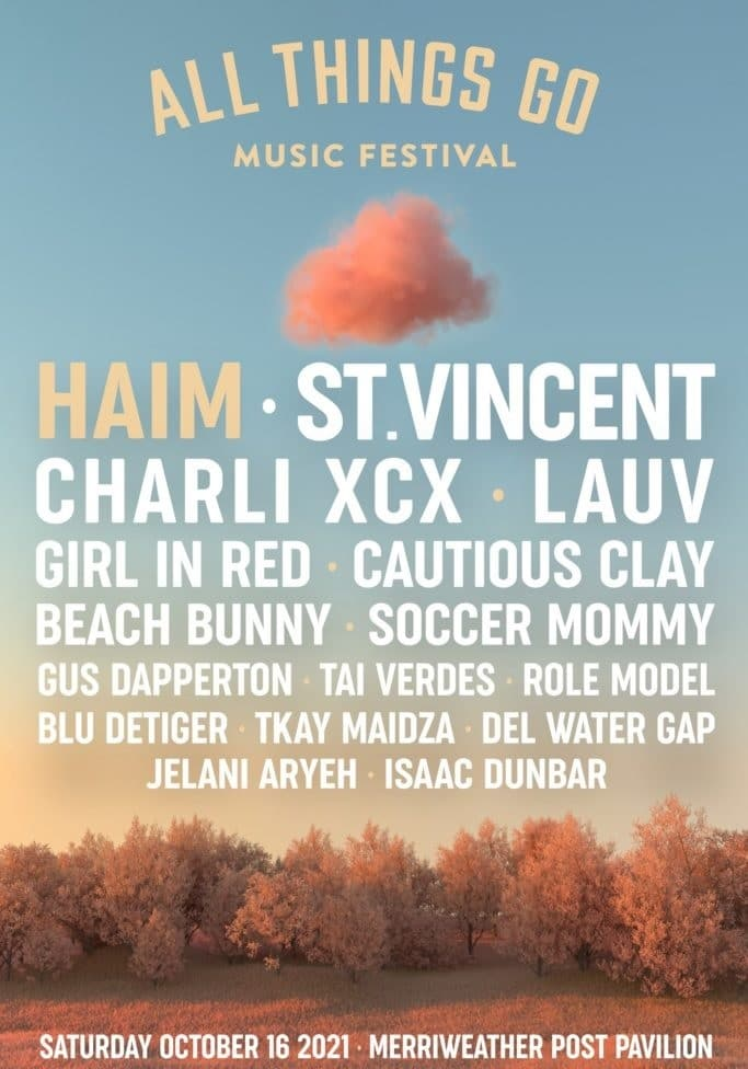 All Things Go Music Festival Lineup 2021
