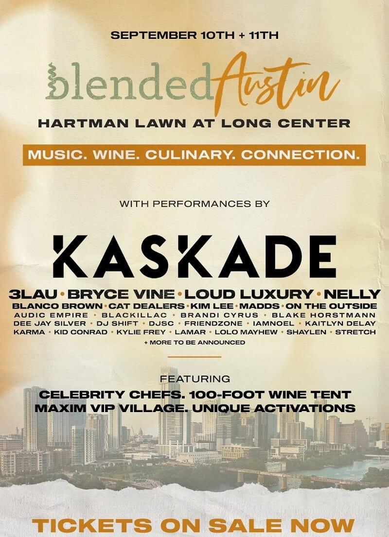 Blended Festival Austin Lineup 2021