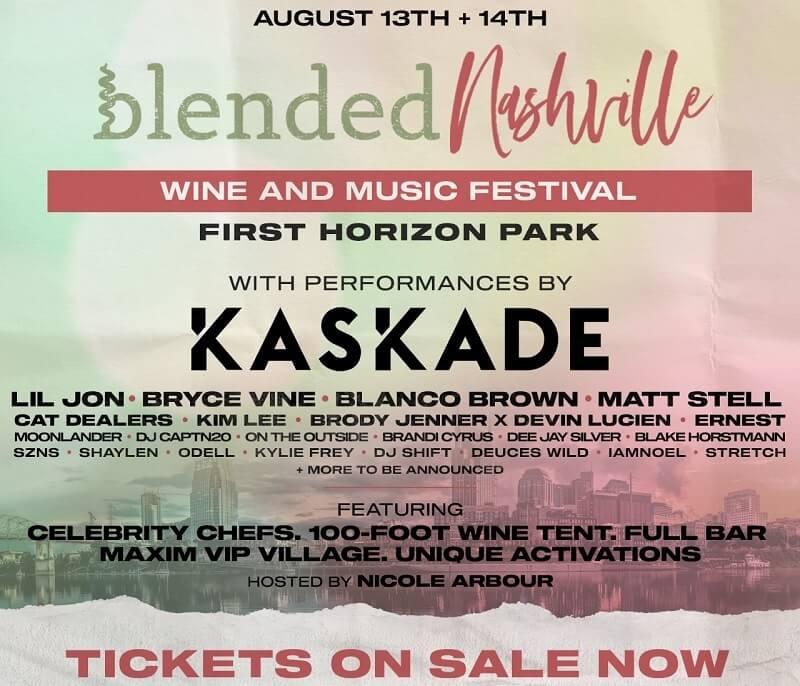 Blended Festival Nashville Lineup 2021