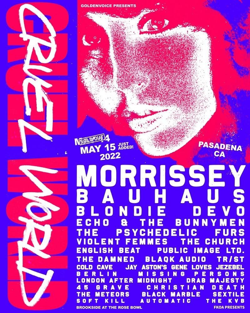 Cruel World Fest Lineup 2022