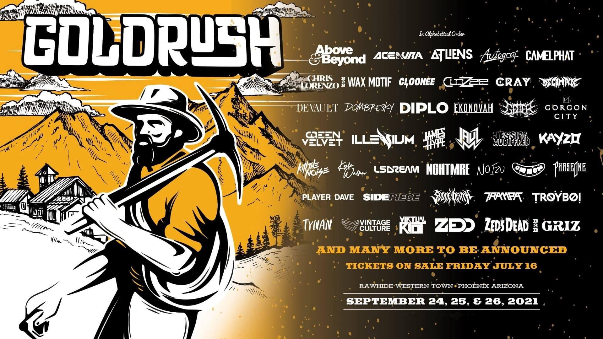 Goldrush Music Festival Lineup 2021