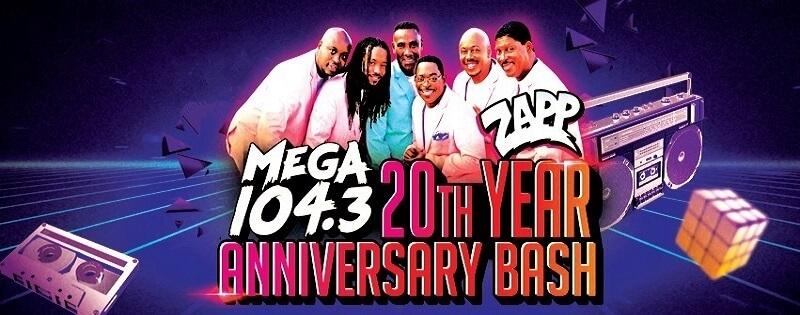 Mega 104.3 Anniversary Bash Tickets