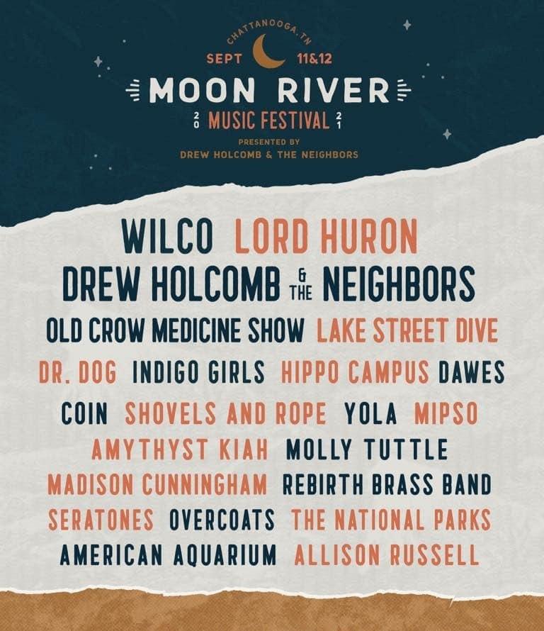Moon River Music Festival Lineup 2021