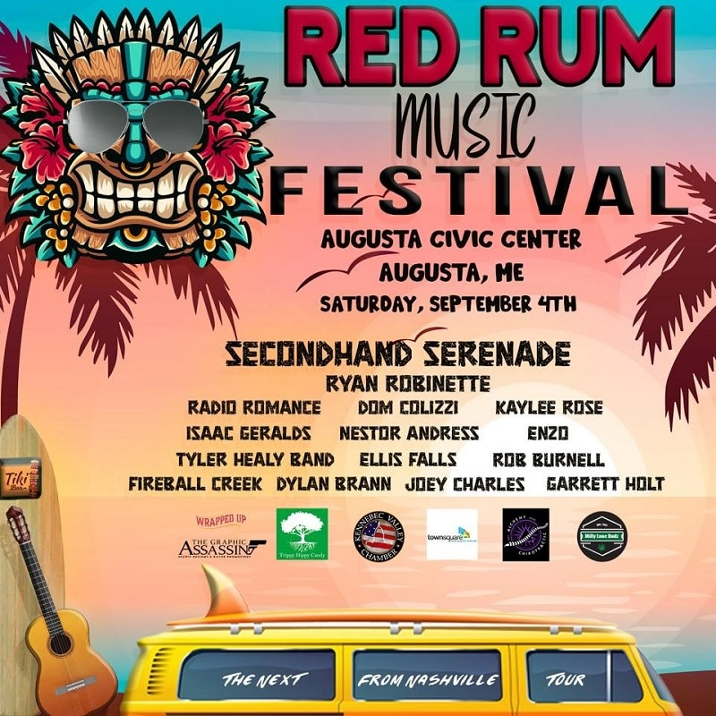 Red Rum Music Festival Lineup 2021