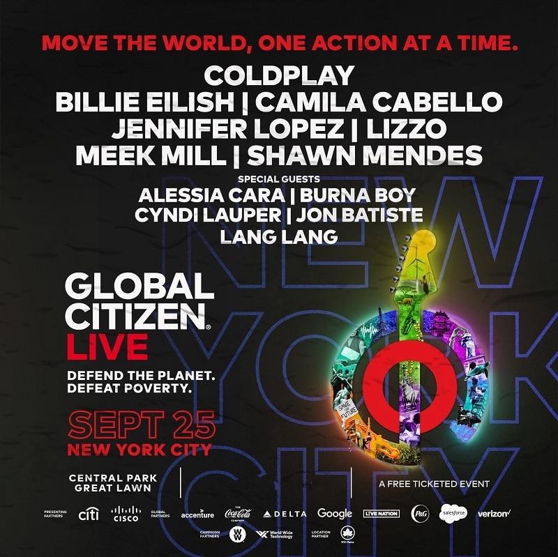 Global Citizen Festival Lineup 2021