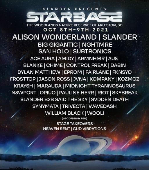 Starbase Festival Lineup 2021
