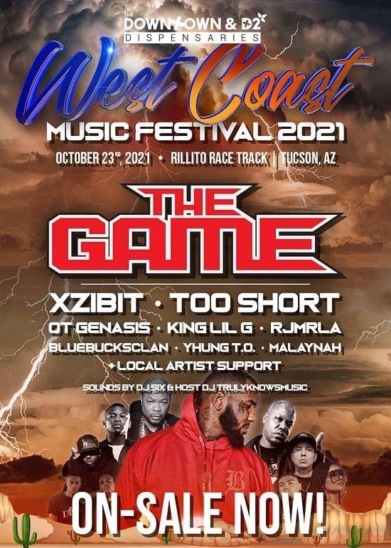 West Coast Music Festival Lineup 2021